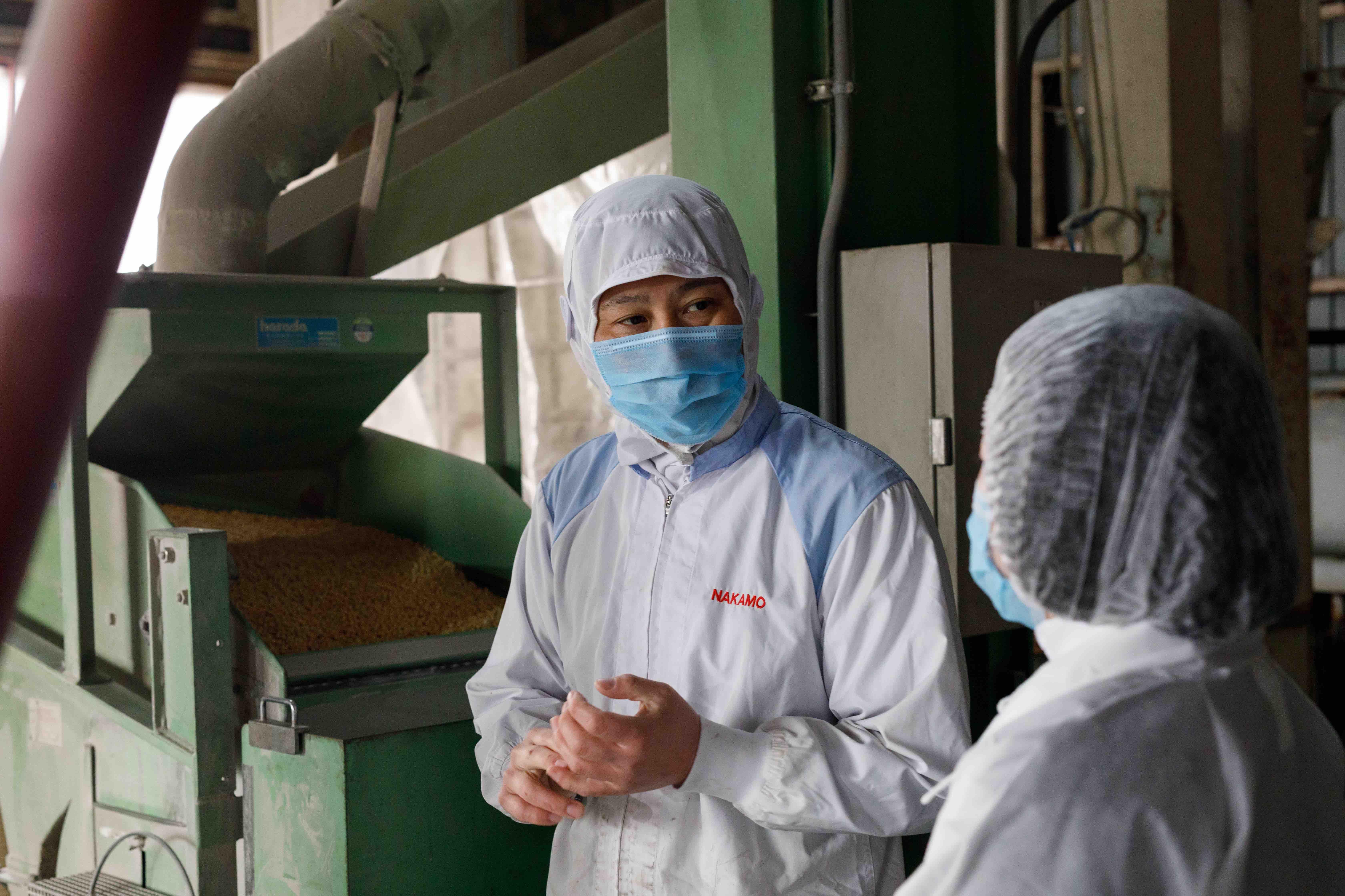 *工場をご案内してくださったのは、工場長の中村剛さんです。ありがとうございました!