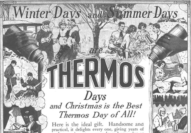 *1915年の広告。当時の暮らしを反映し、新しい価値観の提供を表現しています。